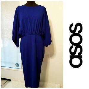 NWOT-ASOS Gorgeous Blue Dress